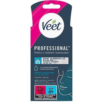 VEET Wax Strips Face Sensitive Skin 40 ks (5997321772783)