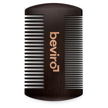 BEVIRO Pear Wood Beard Comb (8594191205099)