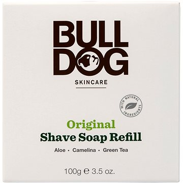 BULLDOG Shave Soap Refill 100 g (5060144647368)