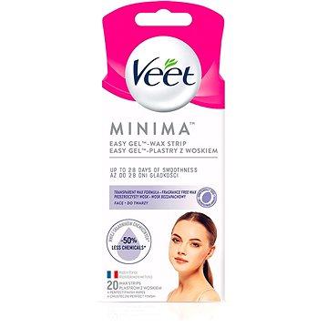 VEET Minima Hypoallergenic Wax Strips Face 20 ks (5900627095883)
