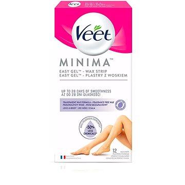 VEET Minima Hypoallergenic Wax Strips Legs 12 ks (5900627095876)