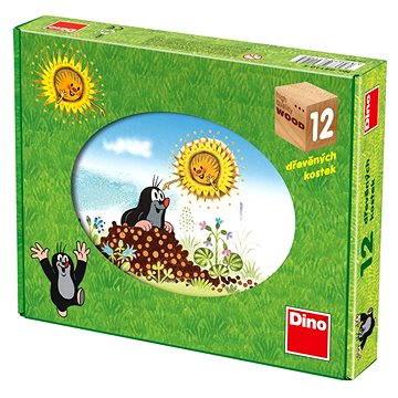 Dino dřevěné kostky kubus - Krtkův rok (8590878641068)