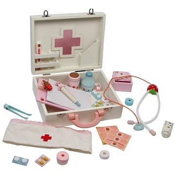 Dětský dřevěný doktorský kufřík - Isabel (4020972061133)