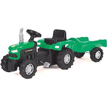 Šlapací traktor s vozíkem (8590669271375)