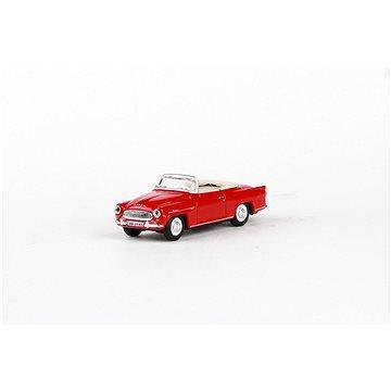 Abrex Škoda Felicia Roadster (1963) 1:72 - Červená Tmavá (8592420701602)