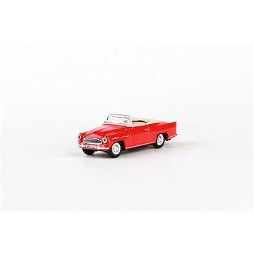 Abrex Škoda Felicia Roadster (1963) 1:72 - Červená Světlá (8592420701596)