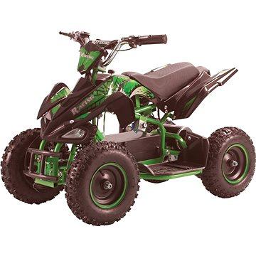 Buddy Toy BEA 820 Čtyřkolka Racing 800W - zelený (8590669295845)