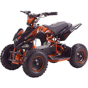 Buddy Toy BEA 821 Čtyřkolka Racing 800W - oranžová (8590669295852)