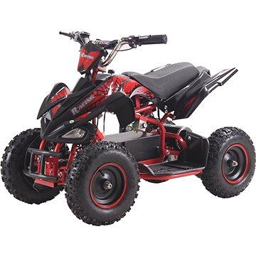 Buddy Toy BEA 822 Čtyřkolka Racing 800W - červená (8590669295869)