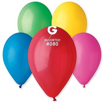 Nafukovací balónky, 30cm, mix barev, 10ks (8595681500113)