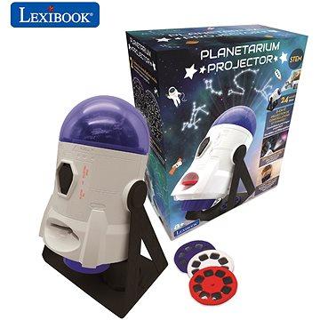 Lexibook 360° Hvězdný projektor s obrázky a mapy (3380743086194)
