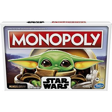 Monopoly Star Wars The Mandalorian The Child CZ verze (5010993805587)