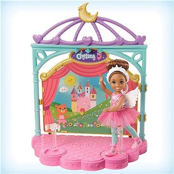 Barbie chelsea baletka herní set (0887961803518)