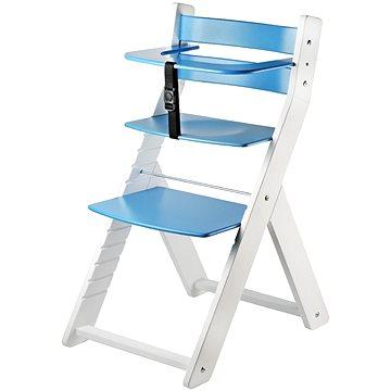 Rostoucí židle Wood Partner Luca Kombi Barva: bílá/modrá (8592927751650)