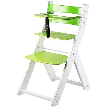 Rostoucí židle Wood Partner Luca Kombi Barva: bílá/zelená (8592927751643)