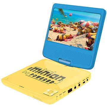 Mimoni Přenosný DVD přehrávač 7 s rotující obrazovkou a sluchátky (3380743047850)
