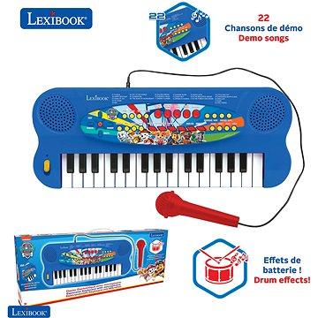 Lexibook Tlapková patrola Elektrické klávesnice s mikrofonem (32 kláves) (3380743077871)