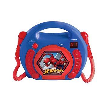 Spider-man Přensný CD přehrávač s 2 mikrofony (3380743067360)