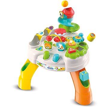 Clementoni Clemmy baby - Veselý hrací stolek s kostkami a zvířátky (8005125173754)