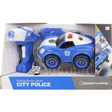 Šroubovací policejní auto na dálkové ovládání (8592386095067)