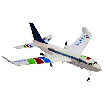 RC Airbus RTF s gyroskopickou stabilizací, 2,4 GHz modrý (4260371084245)