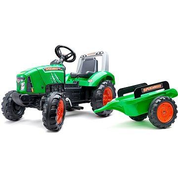 Šlapací traktor Supercharger zelený (3016202021122)
