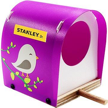Stanley Jr. OK021BUD-SY Stavebnice, ptačí budka, dřevo (7290016261912)