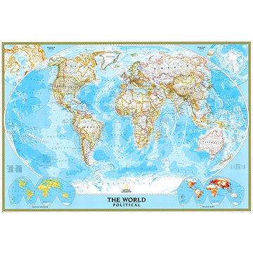 Svět politický Classic 122x176cm, lamino plastové lišty nástěnná mapa (9780792293255)