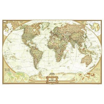 Svět politický EXECUTIVE 122x185cm, lamino plastové lišty nástěnná mapa (9781597751360)