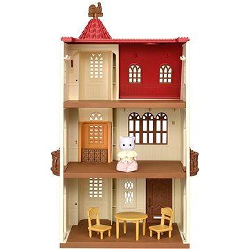 Sylvanian families Dům s věží a červenou střechou (5054131054000)