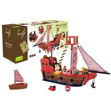 Jouéco dřevěná pirátská loď (8711866800773)