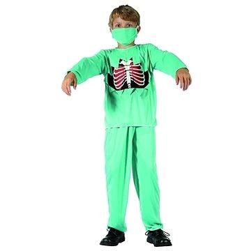 Dětský Kostým Doktor Zombie vel.120-130 cm - Halloween (5901238685067)