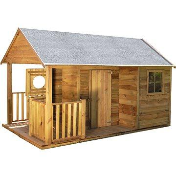 Domeček dětský dřevěný Farma (8590517988059)