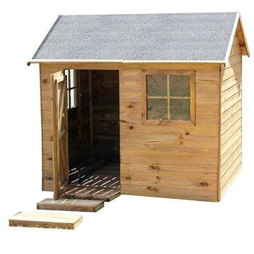 Domeček dětský dřevěný Chata (8590517988028)