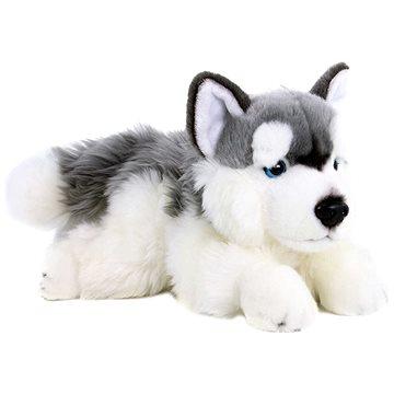 Rappa plyšový pes husky 30 cm Eco-friendly (8590687198975)