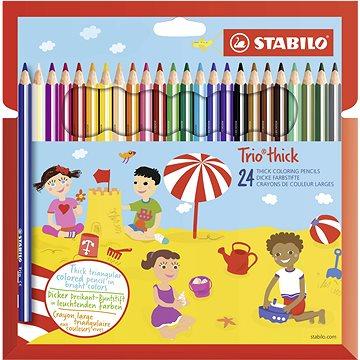 STABILO Trio silné, pouzdro 24 barev (4006381483995)