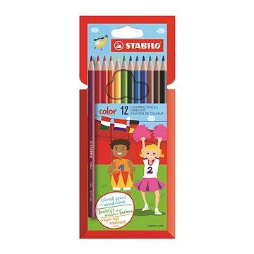 STABILO color kartonové pouzdro 12 barev (4006381488020)