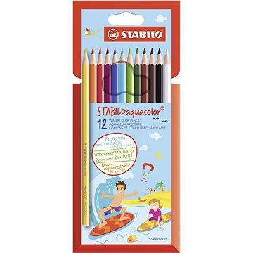 STABILOaquacolor kartonové pouzdro 12 barev (4006381483636)