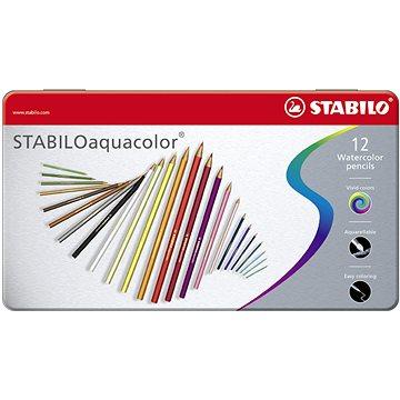 STABILOaquacolor kovové pouzdro 12 barev (4006381146487)