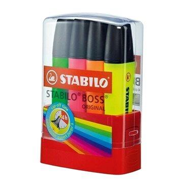 STABILO BOSSparade 4 ks stolní set (4006381377959)