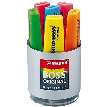 STABILO BOSS ORIGINAL 6 ks sklenice box (4006381214575)