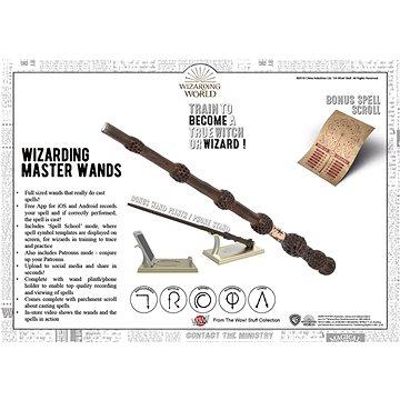 Wow Stuff - Harry Potter - Čarodějova světlo kreslící hůlka - Zvláštní kouzlo (5055394013339)