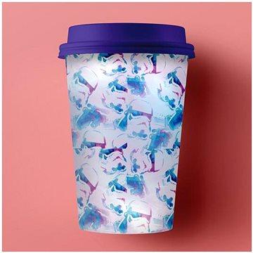 Paladone - Star Wars - Cestovní pohárek s víkem Stormtrooper - v pastelových barvách (5055964707866)