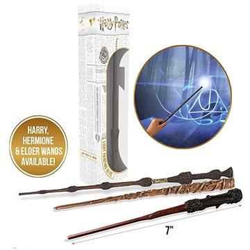 Wow Stuff - Harry Potter - Hůlka se světelným efektem (7 palců) - Hermione (5055394015319)