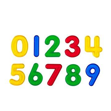 Čísla průhledná 5cm, sada (5060138825543)