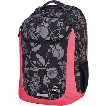 Batoh školní be.bag 2-Flowers (5901389575125)