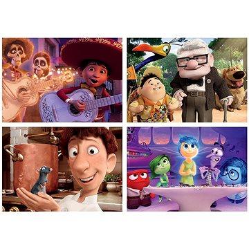 Puzzle Pixar - pohádky 4v1 (20,40,60,80 dílků) (8412668186255)