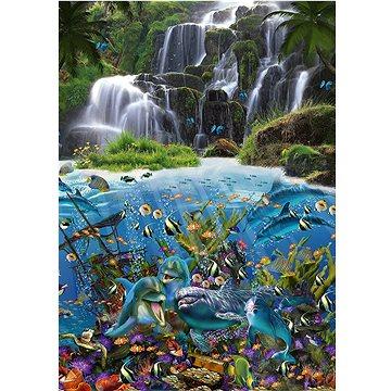 Puzzle Vodopád 1000 dílků (4001504596842)