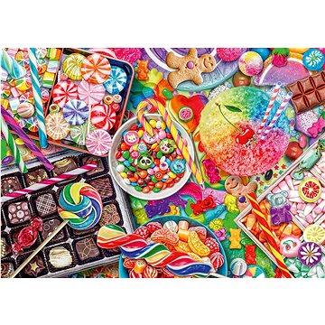 Puzzle Cukrovinky 1000 dílků (4001504589615)