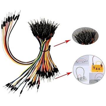 Keyes Arduino sada 3x65 ks kabelů male-male (8595065721219)